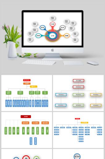 组织结构图组织架构图公司专用PPT亚博体育主页